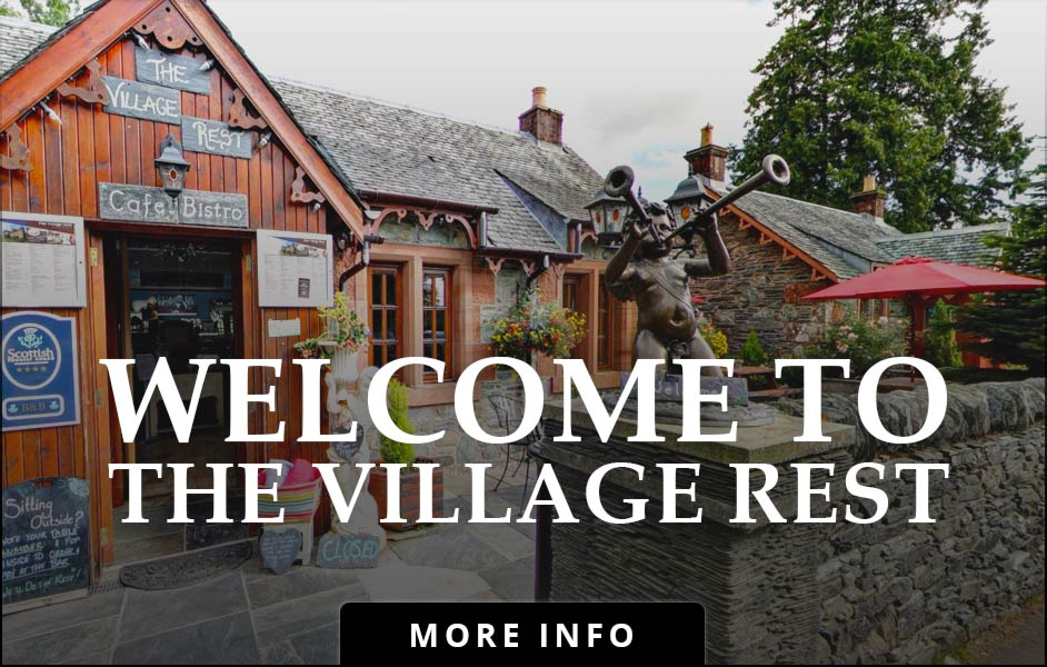 The Village Rest Welcoming Front Entrance