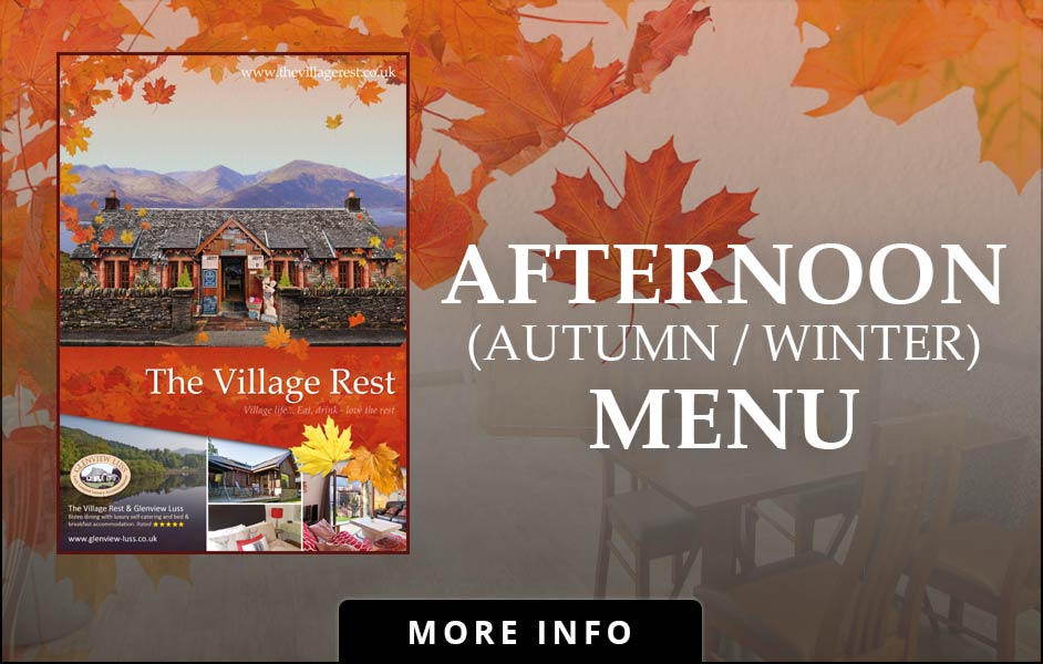 Afternoon (Autumn / Winter) dinning at the Village Rest